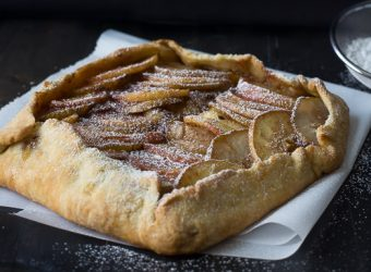 Pear-and-apple-galette