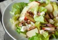 Viegli un ārprātīgi gardi salāti! Klasiskie Valdorfa salāti