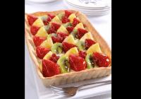 Klasiskā augļu tarte (fotorecepte)