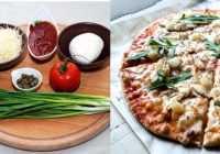 Satriecoši garšīga diētiskā pica