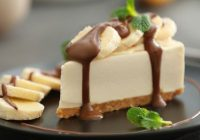 Maiga banānu siera kūka bez cepšanas: burtiski kūst mutē