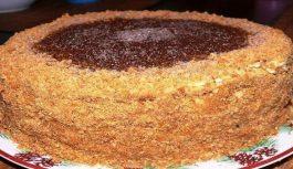 """Mājas kūka """"Rižiks"""": maiga un ar bērnības garšu"""