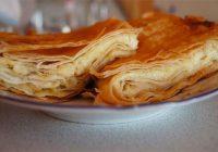 Brokastis 10 minūtēs: siera pīrāgs