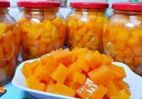 Ar 20 burciņām būs par maz! Sulīgs ķirbju mango ziemai. Garšīgs un veselīgs!