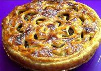 Satriecoša pīrāga recepte. Tas nekad nepaliks uz otru dienu